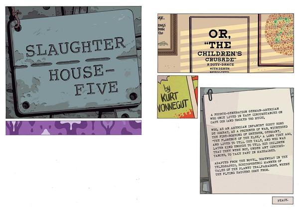 Slaughterhouse-Five Graphic Novel (Hardcover)