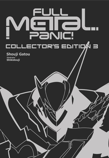 Full Metal Panic! Collector's Edition Novel Omnibus Volume 3 (Hardcover)