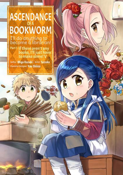 Ascendance of a Bookworm Part 1 Manga Volume 5
