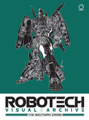 Robotech Visual Archive The Southern Cross Artbook (Hardcover)