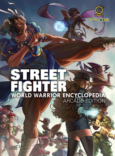 Street Fighter World Warrior Encyclopedia Arcade Edition Hardcover