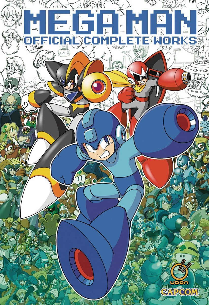 Mega Man Official Complete Works Artbook (Hardcover)