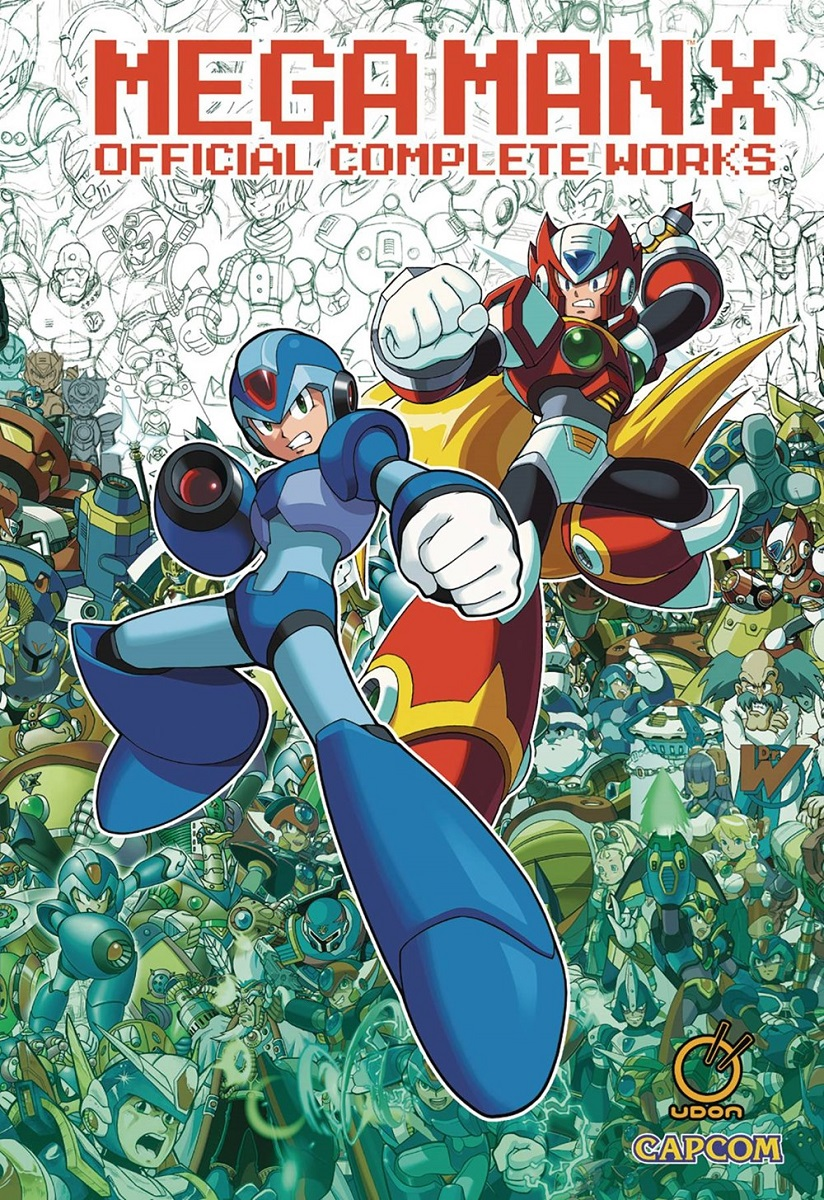Mega Man X Official Complete Works Artbook (Hardcover)