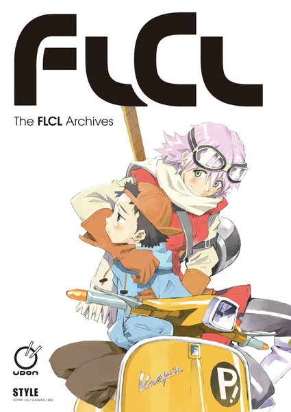 The FLCL Archives Artbook