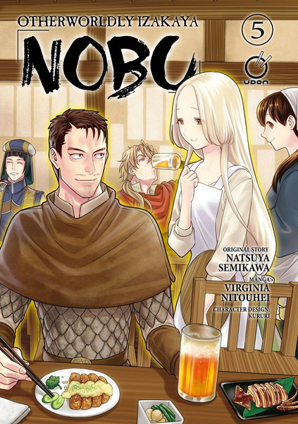 Otherworldly Izakaya Nobu Manga Volume 5