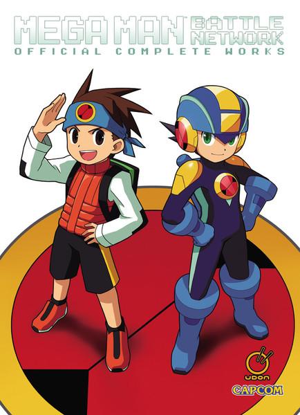 Mega Man Battle Network Official Complete Works Artbook (Hardcover)