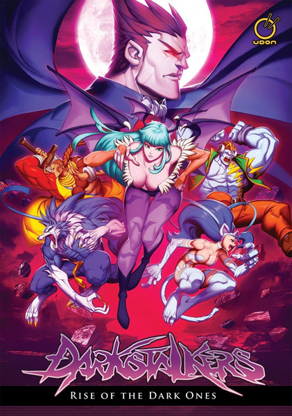 Darkstalkers Rise of the Night Warriors Manga Hardcover