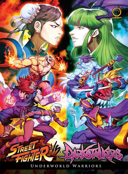 Darkstalkers vs Street Fighter