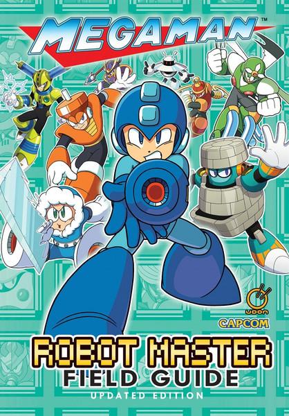 Mega Man Robot Master Field Guide Updated Edition Artbook Hardcover