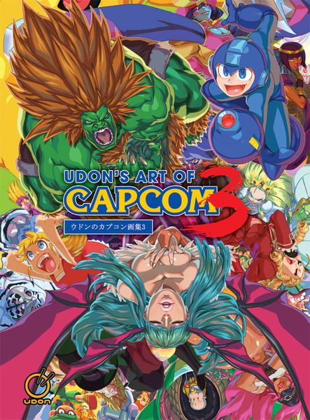 Udon's Art of Capcom Volume 3 Artbook (Hardcover)