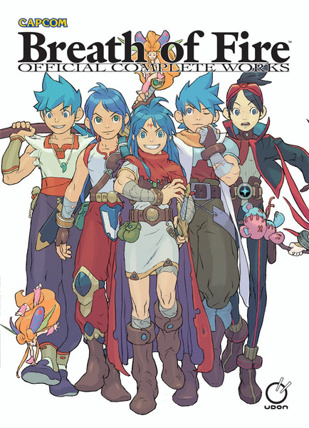 Breath of Fire Official Complete Works Artbook (Hardcover)