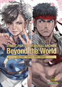 Street Fighter Memorial Archive Beyond the World Artbook (Hardcover)