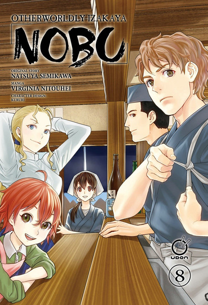 Otherworldly Izakaya Nobu Manga Volume 8