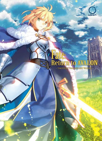 Fate Return to Avalon Takeuchi Takashi Artbook (Hardcover)