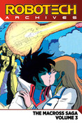 Robotech Archives The Macross Saga Graphic Novel Volume 3
