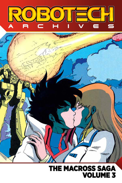 Robotech Archives Macross Saga Manga Volume 3