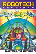 Robotech Archives The Sentinels Graphic Novel Volume 1