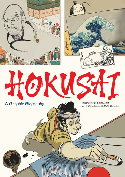 Hokusai A Graphic Biography (Hardcover)
