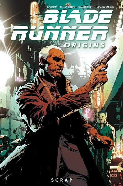Blade Runner Origins Volume 2 Scrap Graphic Novel
