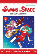 Swans in Space Manga Volume 2 (Color)