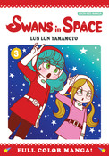 Swans in Space Manga Volume 3 (Color)
