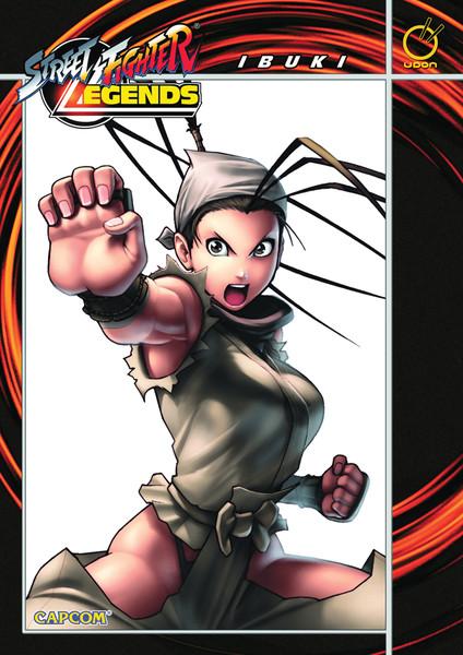 Street Fighter Legends Manga Volume 3 (Color)