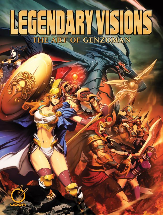 Legendary Visions: The Art of Genzoman 9781926778211