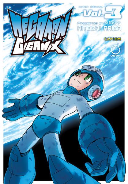 Mega Man Gigamix Graphic Novel 3