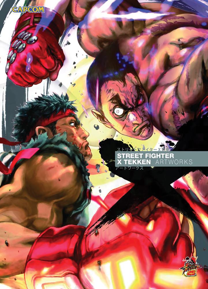 Street Fighter X Tekken Artworks 9781926778518