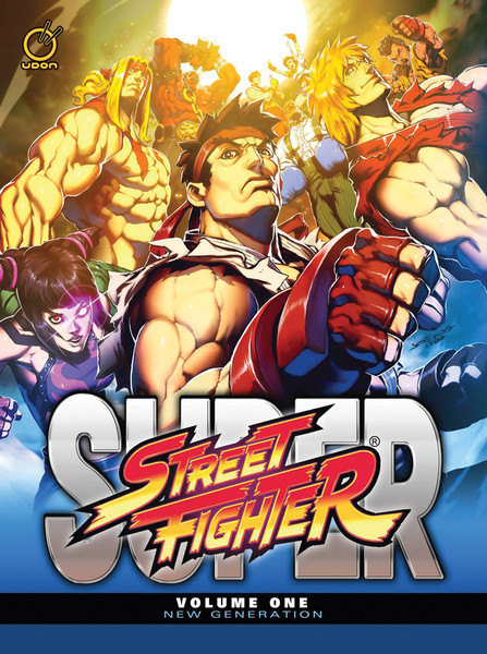 Super Street Fighter Manga Volume 1 New Generation (Color)