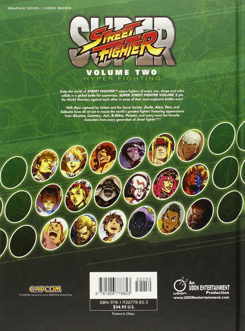 Super Street Fighter Hyper Fighting Manga Volume 2 (Color)