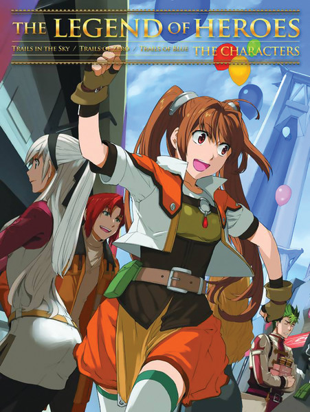 The Legend of Heroes: Characters Artbook