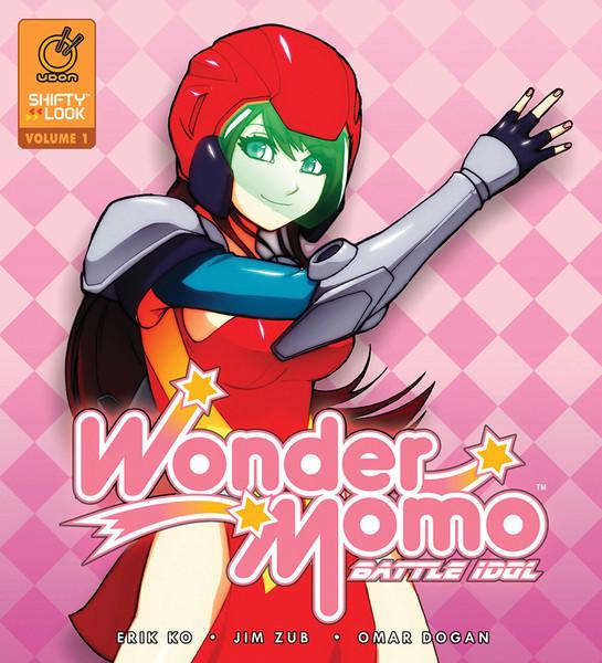 Wonder Momo: Battle Idol Manga 01 (Hardback) (Color)