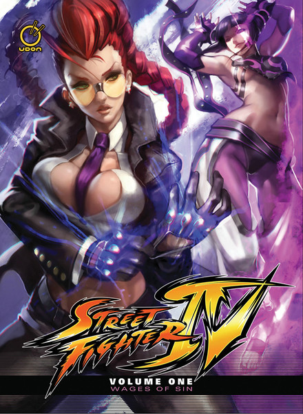 Street Fighter IV: Wages of Sin Manga 01 (Hardcover)