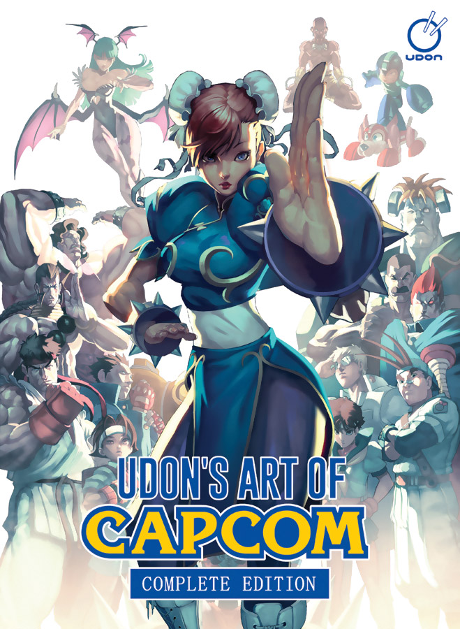 Udon's Art of Capcom Complete Edition Artbook (Hardcover)