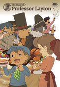 world of professor layton art -p-