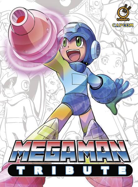 mega man tribute hardcover