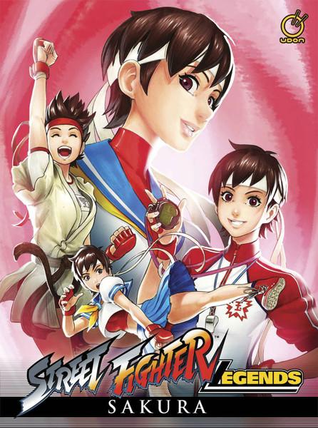 Street Fighter Legends Sakura (Hardcover)