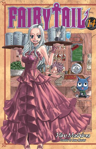 Fairy Tail Manga Volume 14