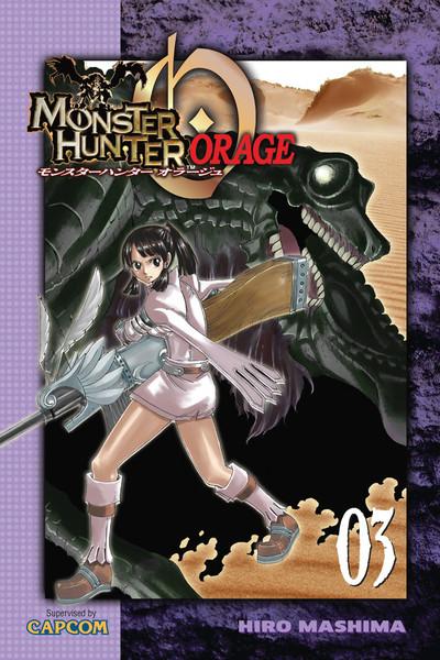 Monster Hunter Orage Manga Volume 3