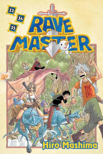 Rave Master Manga Omnibus Manga Volume 11