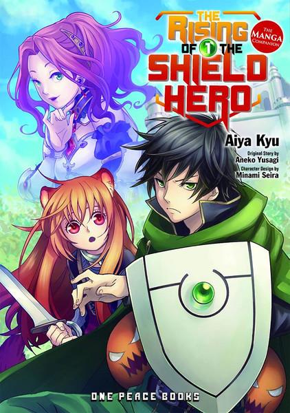 The Rising of the Shield Hero Manga Volume 1