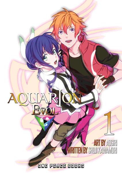 Aquarion Evol Manga Volume 1