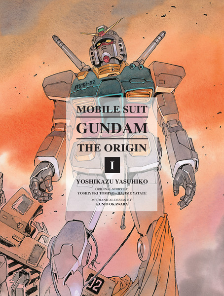 Mobile Suit Gundam The Origin Manga Volume 1 (Hardcover)