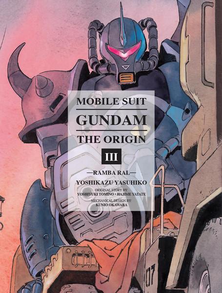 Mobile Suit Gundam The Origin Manga Volume 3 (Hardcover)