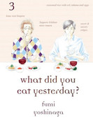 What Did You Eat Yesterday? Manga Volume 3