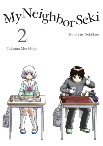 My Neighbor Seki Manga Volume 2
