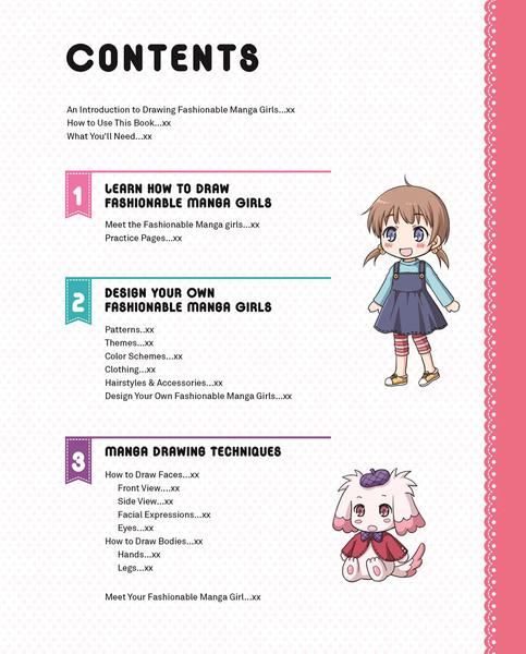 Draw Fashionable Manga Girls An Anime Drawing Workbook for Beginners