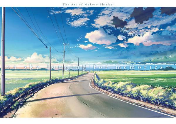 Sky Longing for Memories The Art of Makoto Shinkai (Color)