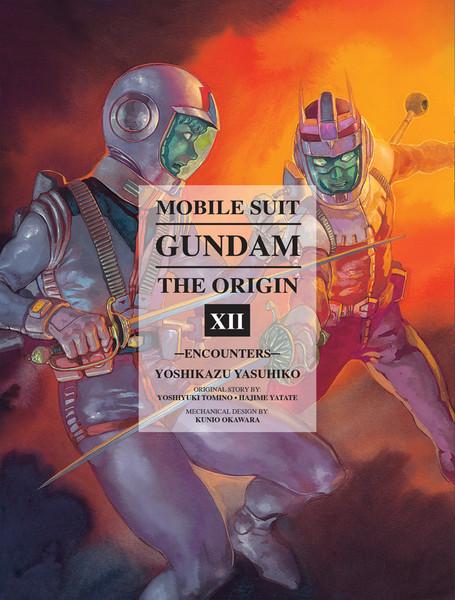 Mobile Suit Gundam The Origin Manga Volume 12 (Hardcover)